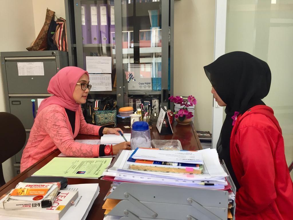 Bimbingan Skripsi Mahasiswa Prodi Bahasa Inggris Maret 2019 Bahasa Inggris Universitas Widyatama