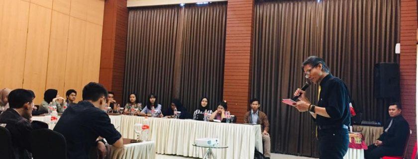Sambutan dari Dekan Fakultas Bahasa, Bapak Dr. H. Hero Gunawan, Drs., M.Pd.