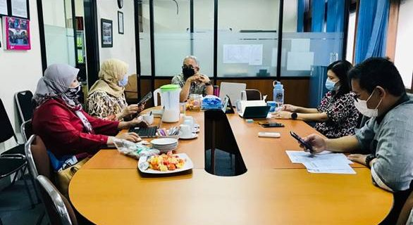 Audit Mutu Internal (AMI) TA 2019-2020 Prodi Bahasa Inggris Fakultas Bahasa OKtober 2020