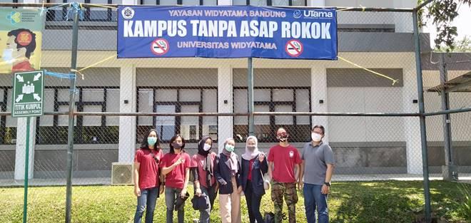 Pengabdian kepada Masyarakat dengan tema Green Campus: Kampus Bebas Asap Rokok